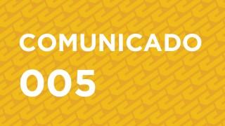 COMUNICADO 005
