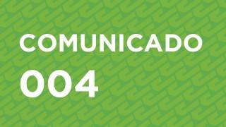 COMUNICADO 004